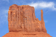 Monument Valley West Mitten Butte USA America Royalty Free Stock Photo