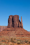 Monument Valley West Mitten Royalty Free Stock Photography
