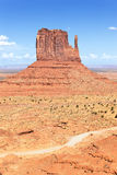 Monument Valley West Thumb Royalty Free Stock Images