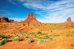Monument Valley West Thumb royalty free stock image