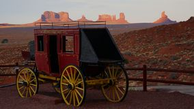 Monument Valley - Wild West stock image