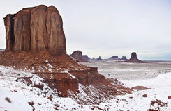 Monument valley, winter time Stock Photography