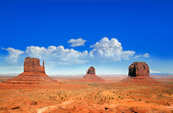 Monument Vally Buttes Stock Image