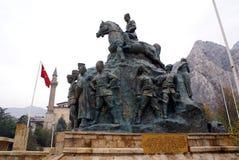 Monument van Ataturk Stock Foto