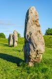 Monument van Avebury het neolithische henge Royalty-vrije Stock Fotografie