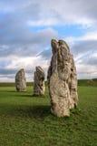 Monument van Avebury het neolithische henge Royalty-vrije Stock Foto