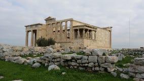 Monument van cariatides royalty-vrije stock fotografie