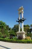 Monument van Columbus, Sevilla Stock Foto's