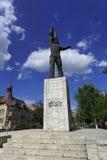 Monument van de Onbekende Roemeense militair, Targu Mures, Roemenië Royalty-vrije Stock Afbeeldingen