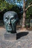 Monument van Duitse kanselier Adenauer stock foto