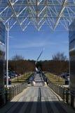 Monument van het luchtans het Ruimtemuseum Royalty-vrije Stock Afbeelding