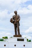 Monument van Koning Chulalongkorn Groot & x28; Rama V& x29; van Thailand bij Rajabhakti-Park Stock Fotografie