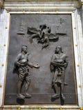 Monument van Koning Naresuan in het oude historische land van Thailand Royalty-vrije Stock Afbeelding