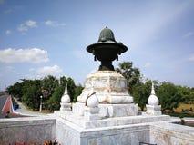 Monument van Koning Naresuan in het oude historische land van Thailand Royalty-vrije Stock Foto's
