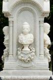 Monument van Koningin Sunanta, Koning Rama V de koninklijke partner van ` s, en thei stock foto