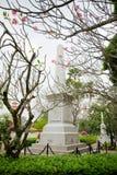 Monument van Koningin Sunanta, Koning Rama V de koninklijke partner van ` s, en thei royalty-vrije stock afbeelding