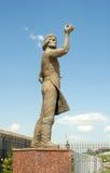 Monument van Lefthander, Russische volksvakman. Tula, Rusland Royalty-vrije Stock Fotografie