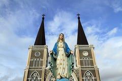 Monument van maagdelijke Mary Royalty-vrije Stock Fotografie