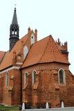 Monument van middeleeuwse architectuur Royalty-vrije Stock Afbeelding