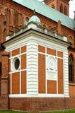 Monument van middeleeuwse architectuur Stock Afbeelding