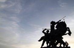 Monument van Thailand Royalty-vrije Stock Foto's