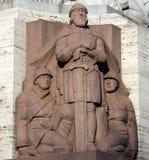 Monument van vrijheid in Riga, Letland Royalty-vrije Stock Foto's