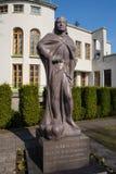 Monument van Vytautas, de Grote Hertog van Litouwen stock foto