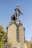 Monument of Vasil Levski( Apostle of Freedom )in his native city Karlovo,Bulgaria Royalty Free Stock Photos