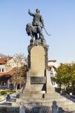 Monument of Vasil Levski( Apostle of Freedom )in his native city Karlovo,Bulgaria. Bulgarian revolutionary and is a national hero of Bulgaria Stock Photo
