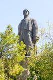 Monument Vassil Levski in Lovech in Bulgaria royalty free stock photos