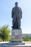 Monument of Vassil Levski Lovech, Bulgaria stock image