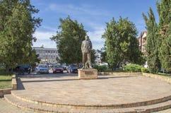 Monument in Veles-stad Macedonië Royalty-vrije Stock Fotografie