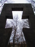 Monument for victims of Holodomor Stock Images