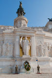 The Monument of Victor Emmanuel II Stock Images