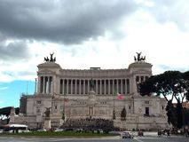 Monument for Victor Emmanuel II in Rome, Italy Royalty Free Stock Photography