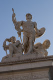 The monument of the Victorian in Rome Royalty Free Stock Images