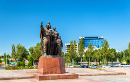 The Monument of Victory in Bishkek - Kyrgyzstan Stock Photos