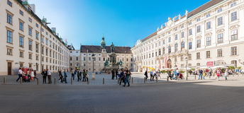 Monument in Viena Stockbilder