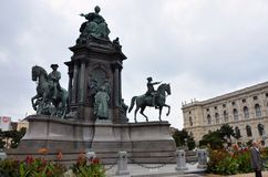 Monument in Vienna Royalty Free Stock Photography