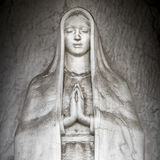 Monument of Virgin Mary royalty free stock photo