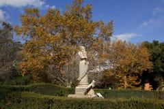 Monument at Viterbo park Royalty Free Stock Photos