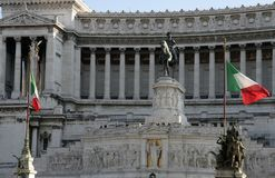 Monument of Vittorio Emanuele II Royalty Free Stock Photos