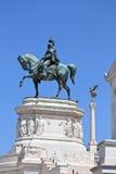 Monument  Vittorio Emanuele II Royalty Free Stock Image