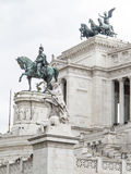 Monument of Vittorio Emanuele II Royalty Free Stock Image