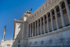 Monument of Vittorio Emanuele II on the the Piazza Venezia, Rome, Italy Royalty Free Stock Photography