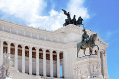 Monument Vittorio Emanuele II in Roma Royalty Free Stock Image