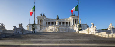Monument Vittorio Emanuele II Royalty Free Stock Photo