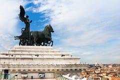 Monument Vittorio Emanuele II, Rome, Italy Royalty Free Stock Image