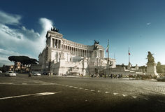 Monument Vittorio Emanuele II, Rome, Italy Royalty Free Stock Photo