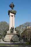 Monument of Vittorio Emanuele II, Turin, Italy Royalty Free Stock Photography
